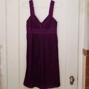 Banana Republic Linen Dress - Purple,  Sz 0P